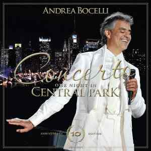 Andrea Bocelli One Night in Central Park 10th