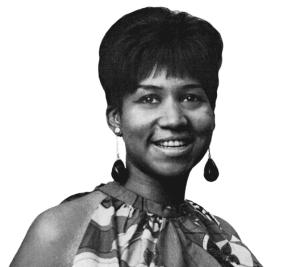 Aretha Franklin BW