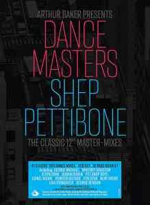 Arthur Baker Dance Masters Shep Pettibone