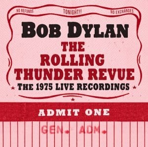 Bob Dylan Rolling Thunder Revue Cover