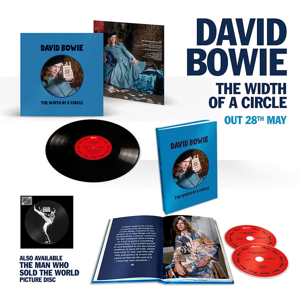 David Bowie The Width of a Circle Items