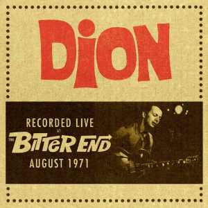 """Review: Dion, """"Recorded Live at the Bitter End August 1971"""""""