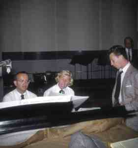 Doris Day with Paul Weston and Donald OConnor Columbia early 1950s
