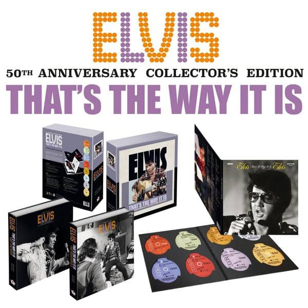 Elvis Thats the Way It Is 50th