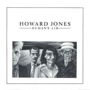 Howard Jones Humans Lib Cover