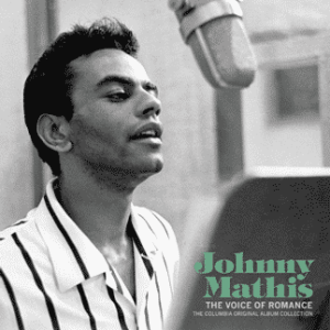 Johnny Mathis Voice of Romance Cover Art