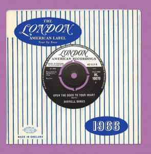 London American Label 1966