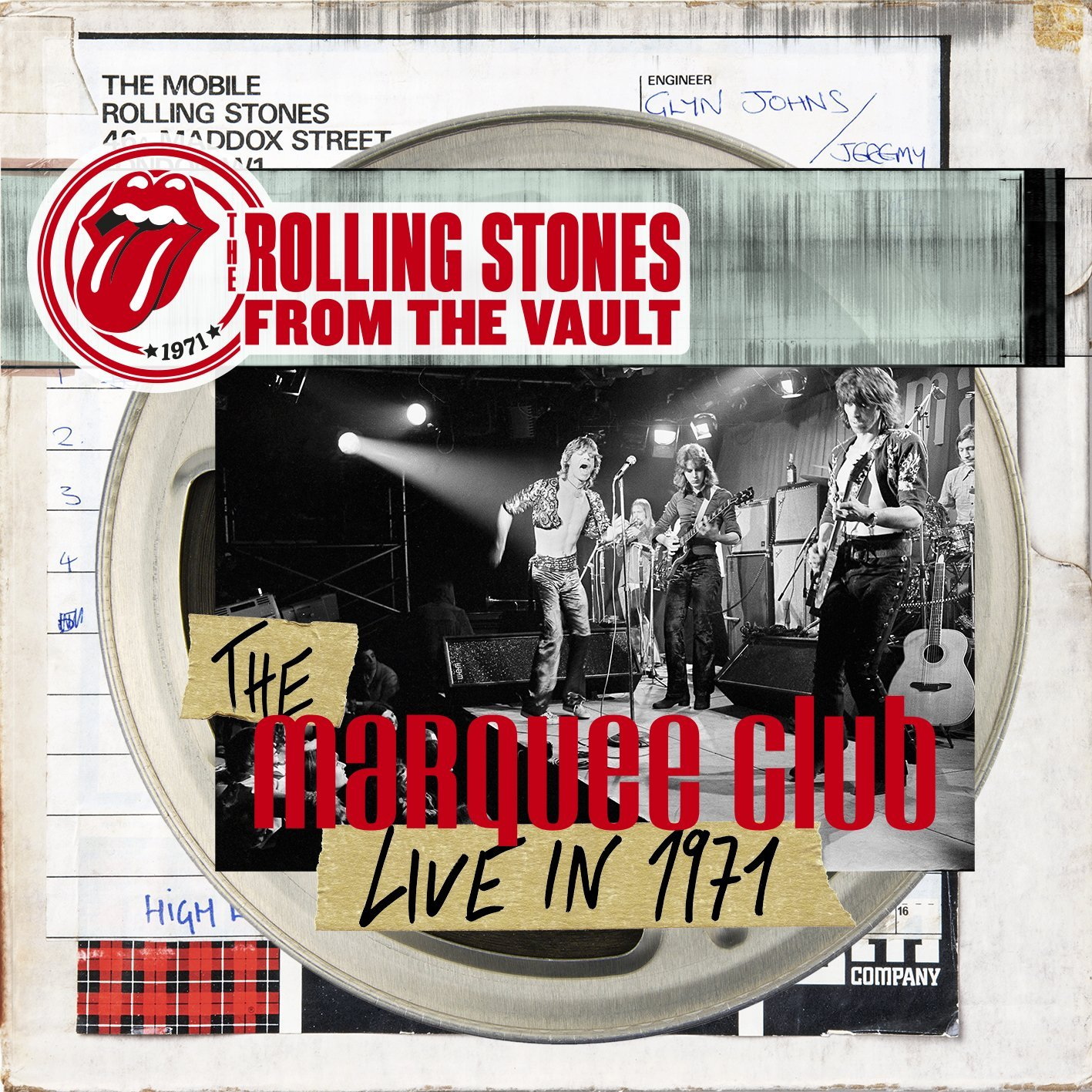 Live And Sticky The Rolling Stones Marquee Club 1971