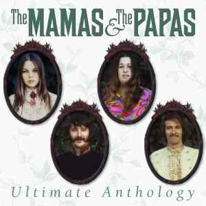 THE MAMAS AND THE PAPAS ULTIMATE ANTHOLOGY cover art TJL 4 CD set