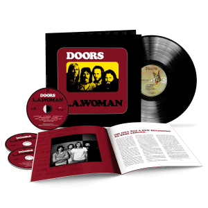 The Doors LA Woman Packshot