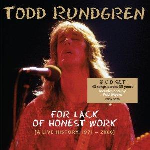 Todd Rundgren - For Lack of Honest Work