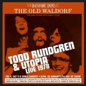 Todd Rundgren Old Waldorf
