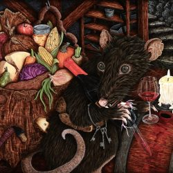 """""""The Cellar Thief"""" by Kathleen Powers (Card)"""