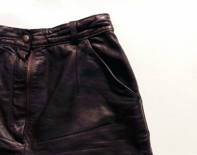 TheSecretCostumier - Leather shorts to be refashioned