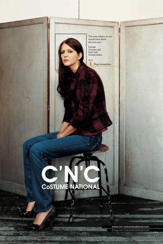 C'N'C Costume National Advertising