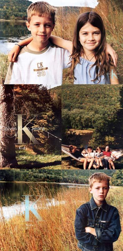 Calvin Klein Jeans Advertising