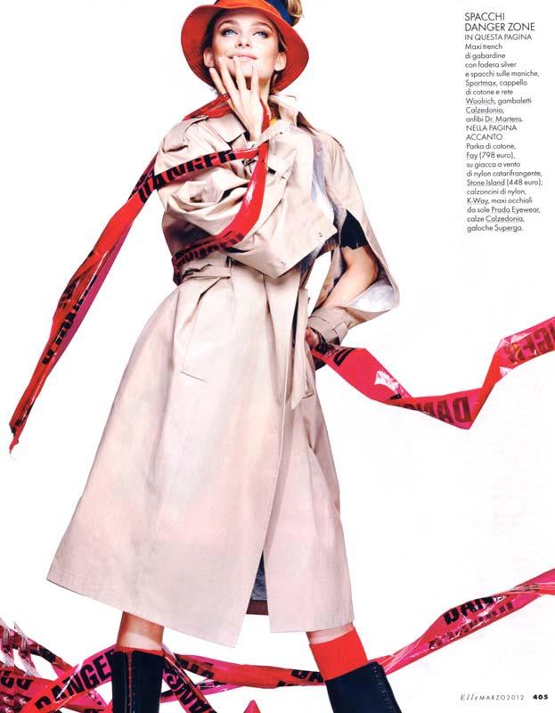 Italian Elle Editorial