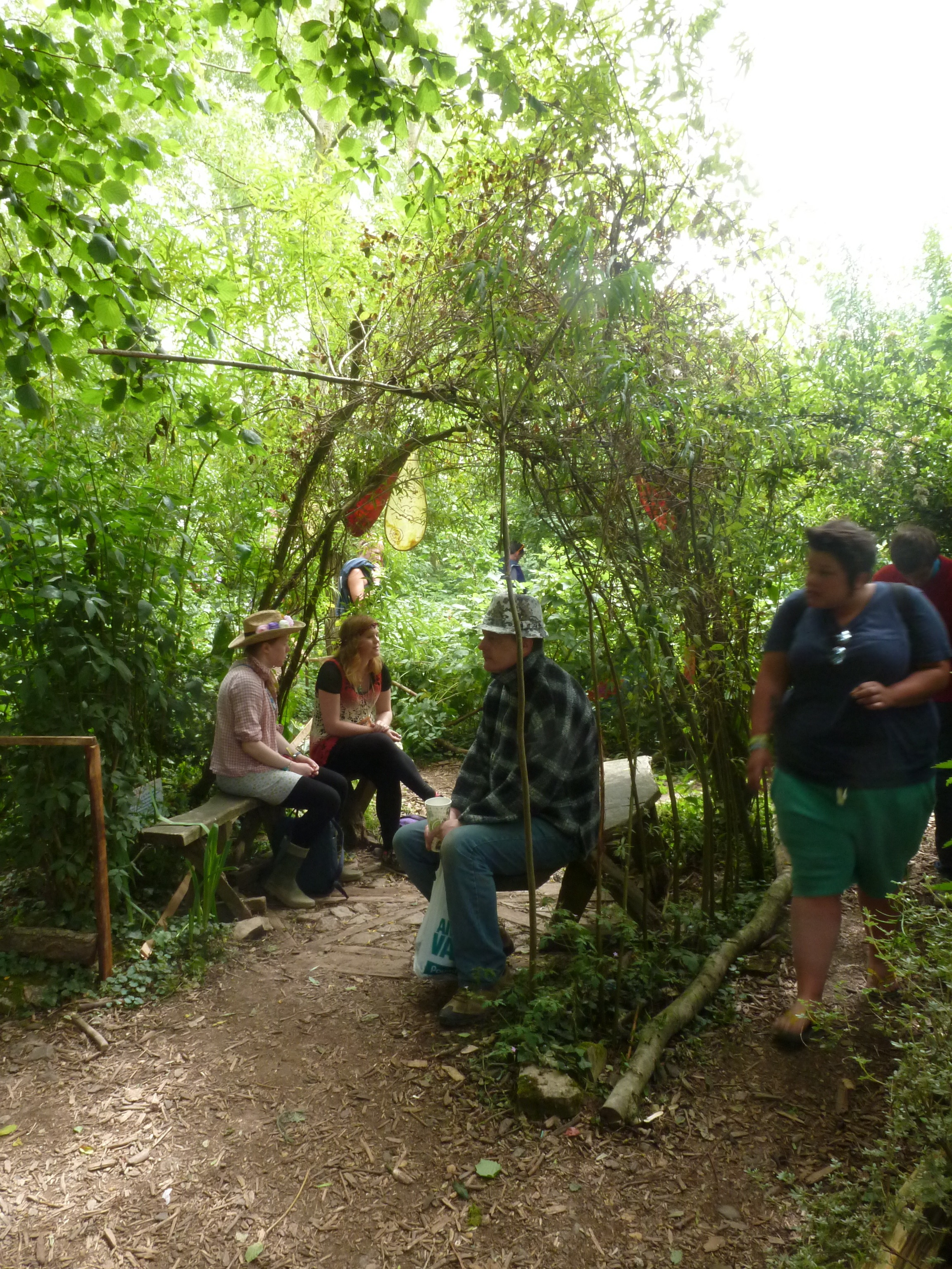 Glastonbury Festival's Permaculture Garden [SOMERSET, UK ... on Backyard Permaculture Design id=32226
