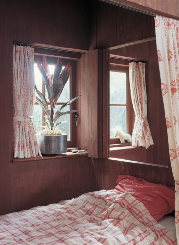A medium sized plant in the bedroom window can add some privacy to a ground floor flat
