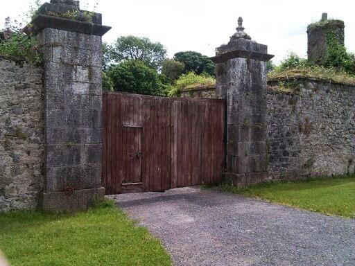 What lies behind the gate?