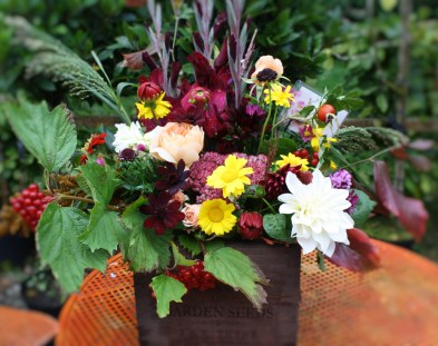 Autumn Flower Box