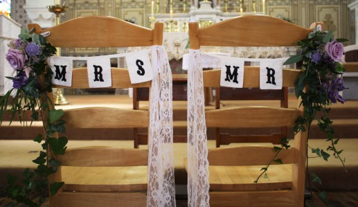 Mr and Mrs Chair Backs