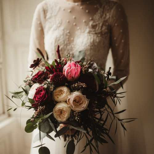 Blush and Burgundy Wedding Kilshane HouseBlush and Burgundy Wedding Kilshane House