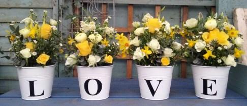 LOVE Buckets Civil Wedding