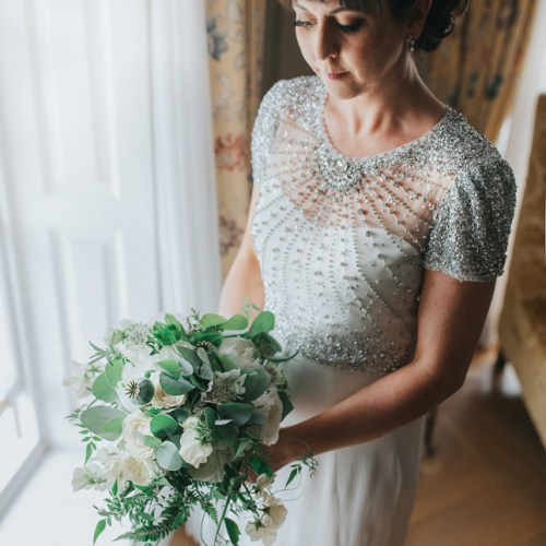 White Bouquet Castlemartyr Wedding