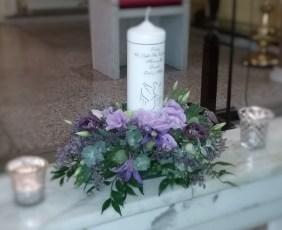 Remembrance Candle Arrangement