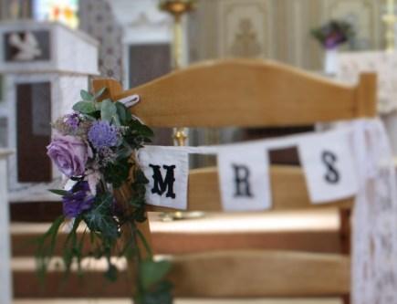 Wedding Chair Back