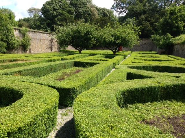 The wonderful parterre garden