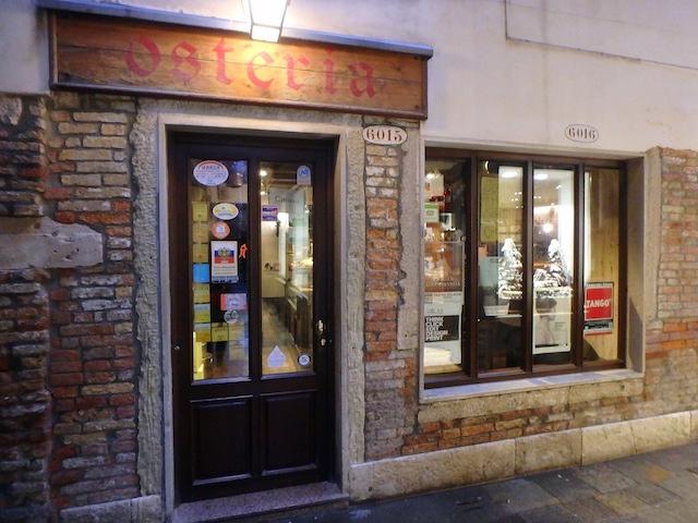Osteria al Portego, Venise