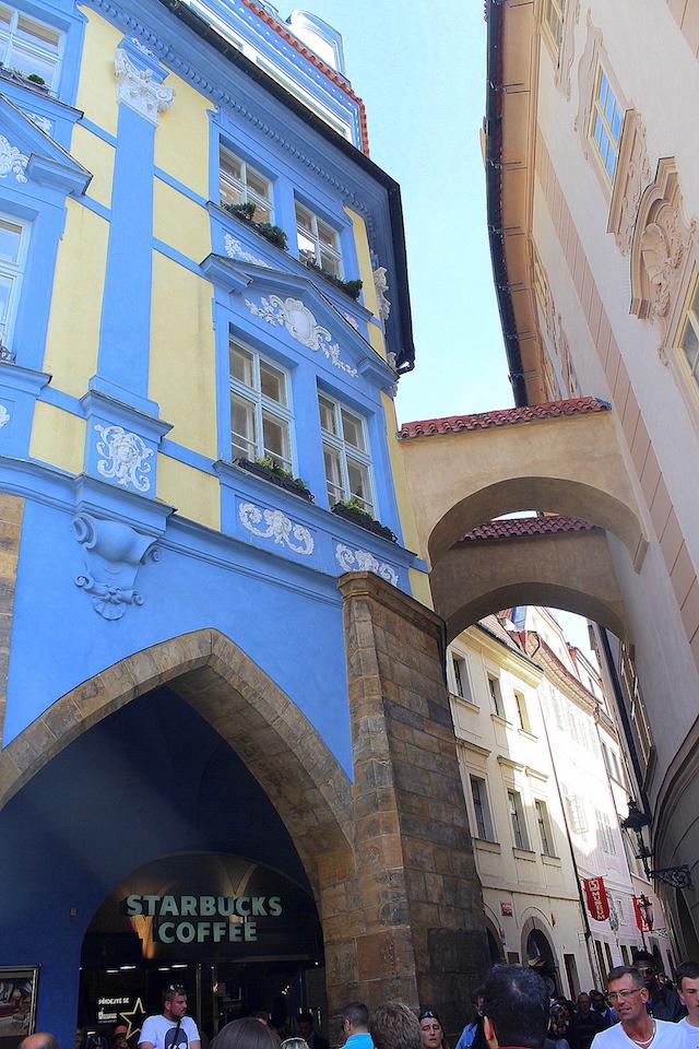 Prague Old Town square Starbucks