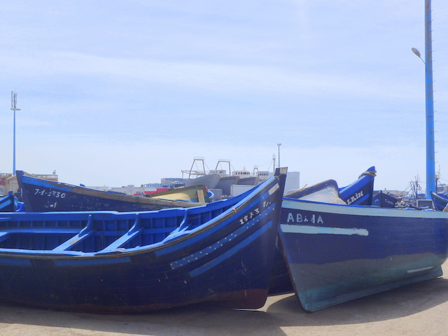 Essaouira fishing harbor, Morocco