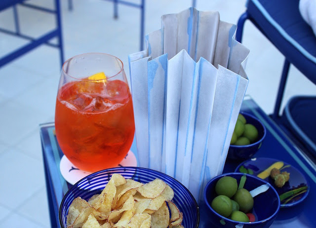 Spritz and some nibbles at Franco