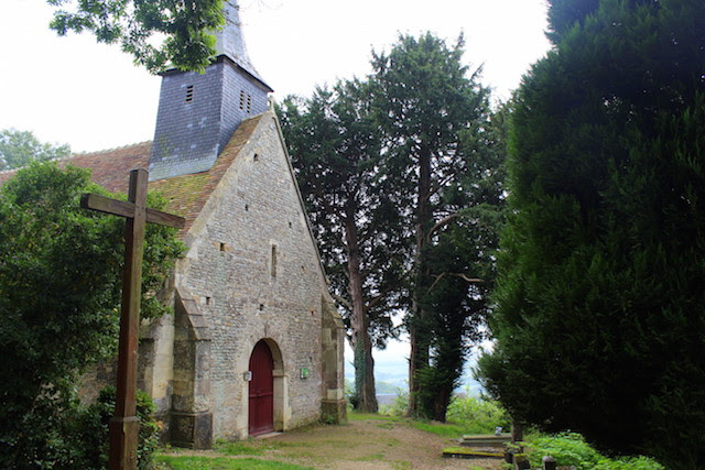 Old church in Noramandy
