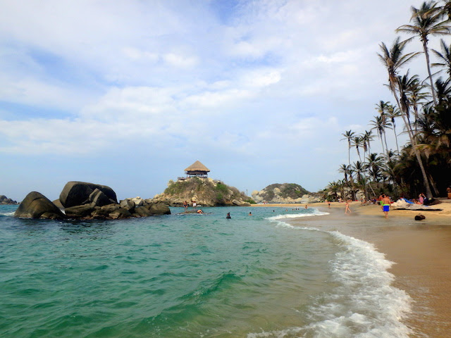El Cabo beach in Tayrona National Park, Colombia