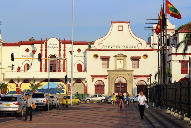 Teatro Colon, Cartagena, Colombia
