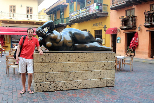Botero statue in Cartagena, Colombia