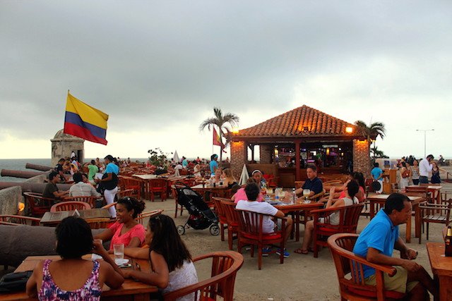 Café del Mar, Cartagena, Colombia