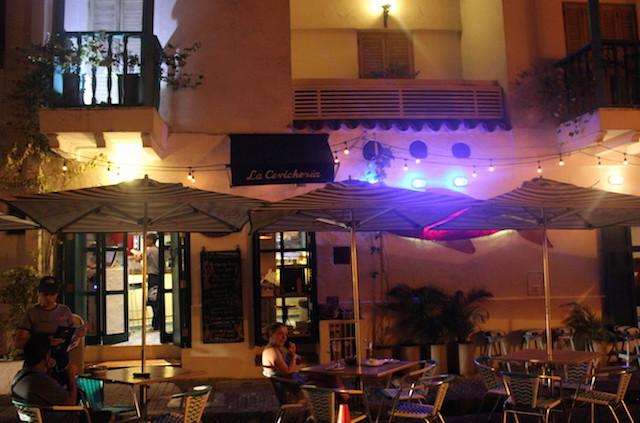 La Cevicheria restaurant in Cartagena, Colombia