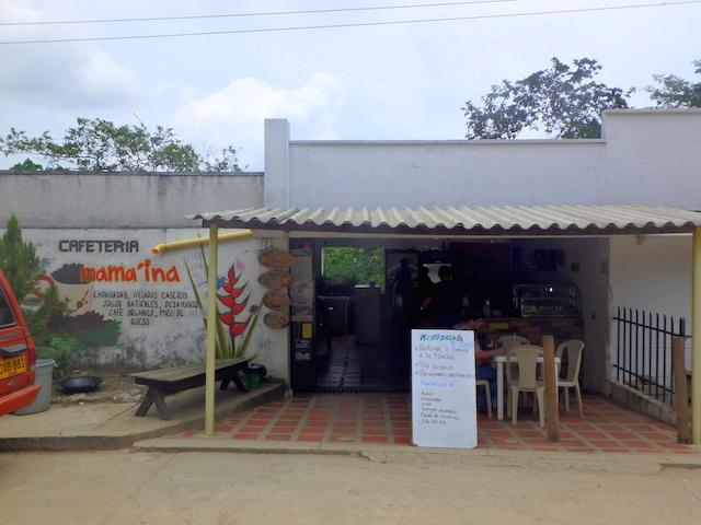 Bakery in Minca, Colombia