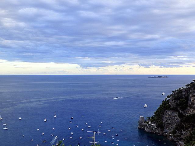 Positano, panorama, Amalfi Coast
