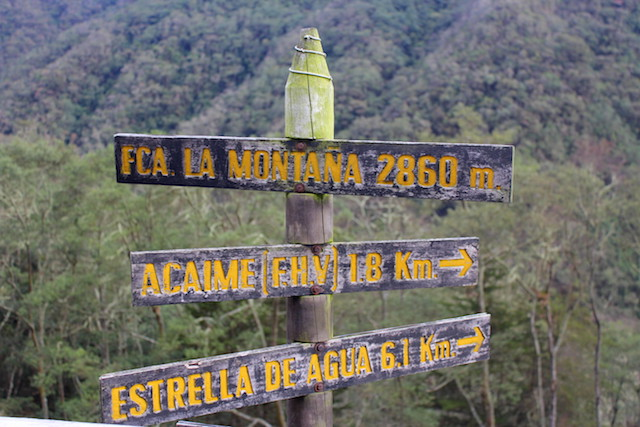 Finca La Montana in Cocora Valley, Colombia