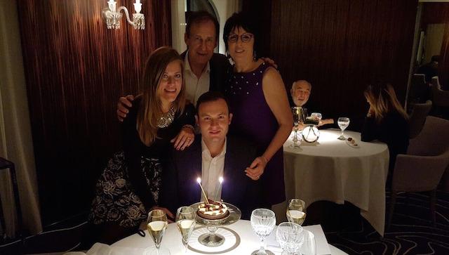 Birthday dinner chez Anne-Sophie Pic restaurant, Valence