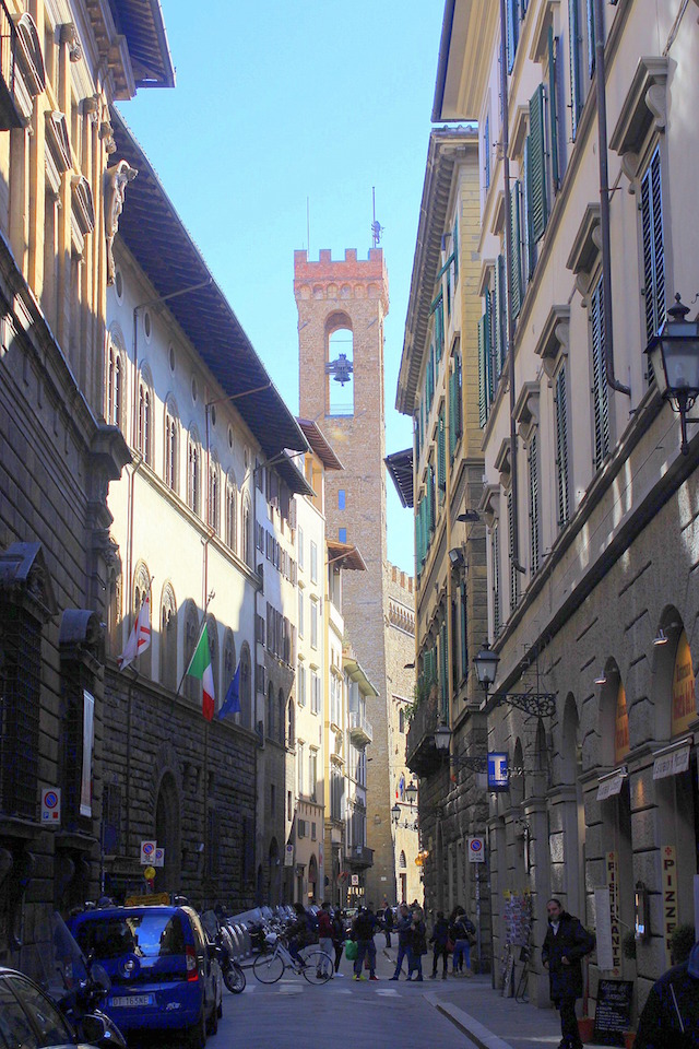 Wandering the streets of Florence