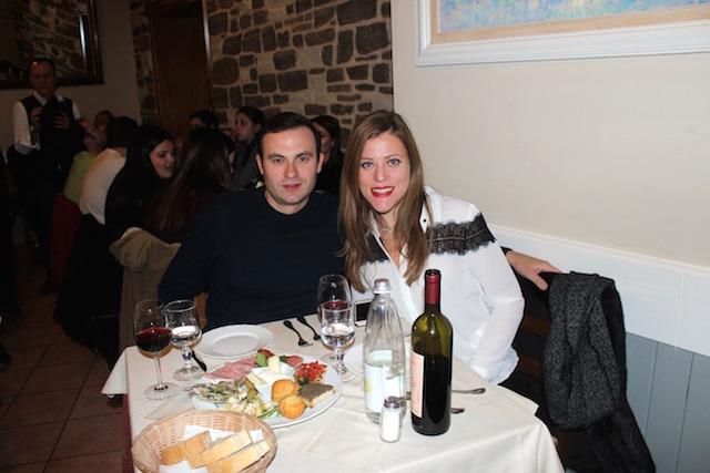 Dinner at Trattoria Da Benvenuto in Florence