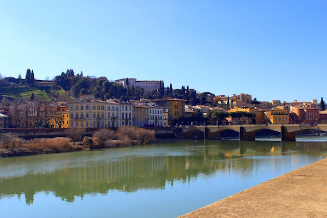 Florence itinerary: Arno river