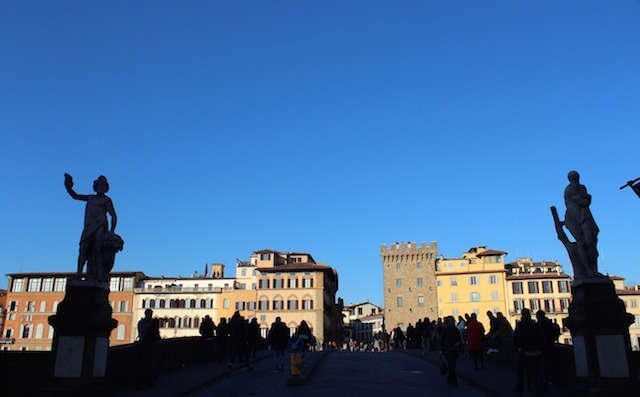 Week-end in Florence, via Tornabuoni